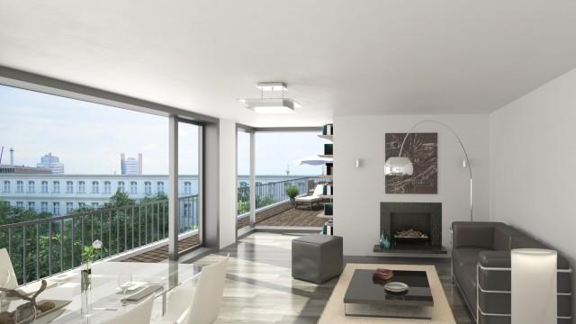 39 the mile 39 exklusive wohnungen in berlin mitte. Black Bedroom Furniture Sets. Home Design Ideas