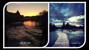 Berlin vs München  –  ein Mietpreisvergleich