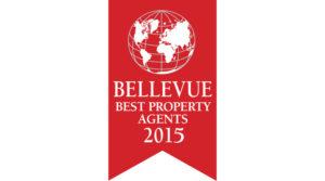 Rubina Real Estate erhält Auszeichnung als 'Bellevue Best Property Agents 2015'