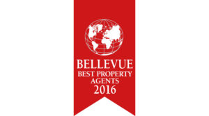 Rubina Real Estate erhält auch dieses Jahr die Auszeichnung als Bellevue Best Property Agents 2016