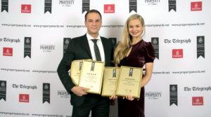 Rubina Real Estate ausgezeichnet mit European Property Awards