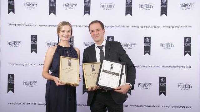 Berliner Immobilienexperten Rubina Real Estate in London mit European Property Awards 2017 ausgezeichnet