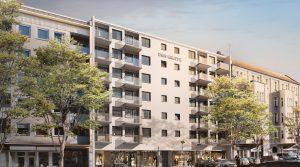 3-Zimmer-Wohnung mit zwei Balkonen in der Uhlandstraße