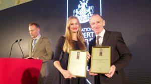 European Property Awards in London: Weltweit bedeutende Immobilienauszeichnung geht an Berliner Immobilienexperten Rubina Real Estate