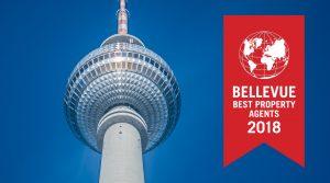Rubina Real Estate GmbH als »BELLEVUE BEST PROPERTY AGENT 2018« ausgezeichnet