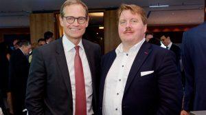 Berkshire Hathaway HomeServices Rubina Real Estate beim 100-jährigen Jubiläum der Berliner Pressekonferenz