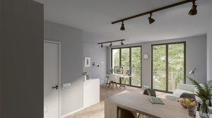 Moderne Einzimmerwohnung in Charlottenburg