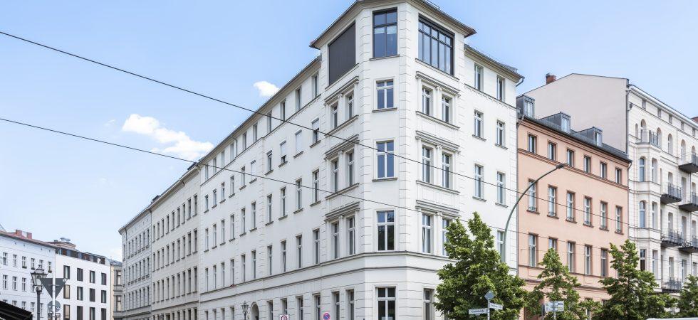 Historischer Altbau trifft Moderne: die Perle am Monbijoupark (Berlin Mitte)
