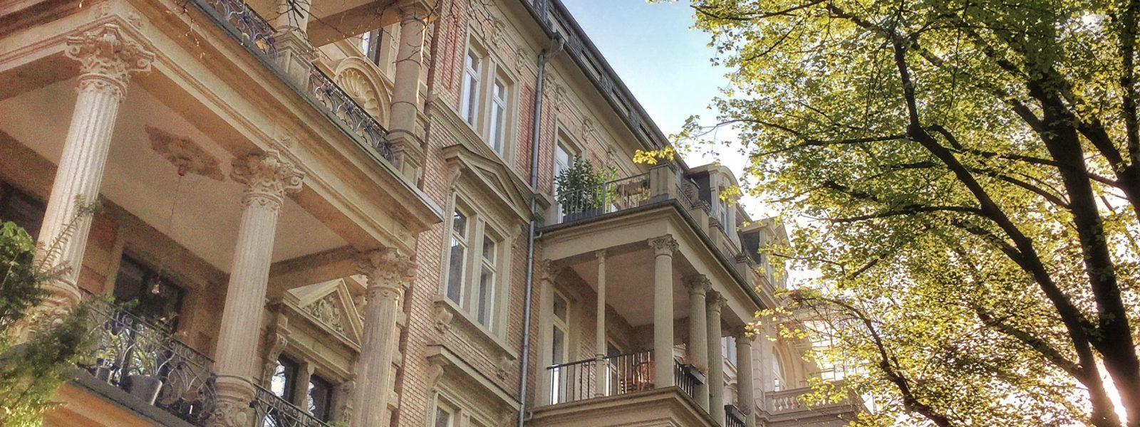 Luxuriöse, historische Wohnung in Wiesbaden
