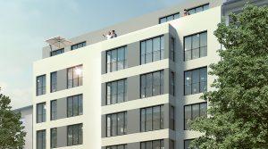Helle, moderne Einzimmerwohnung in Berlin-Charlottenburg