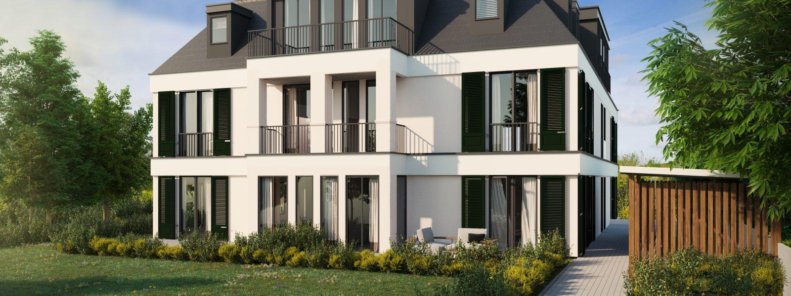 Herausragende Wohnungen im Westen Berlins: Villa Galant