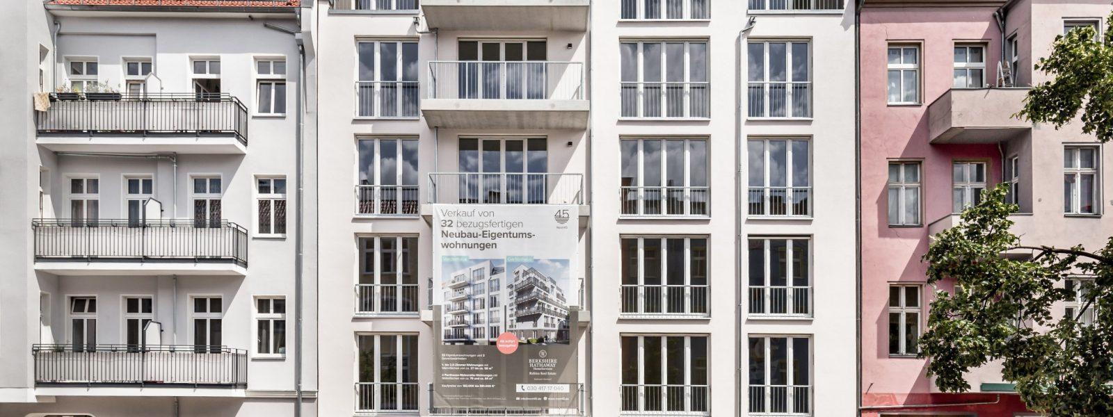 Nest45: bezugsfertige 2-Zimmer-Neubauwohnung nahe Weitlingkiez