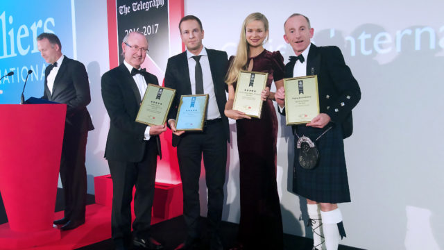 European Property Awards: Rubina Real Estate brings back home four awards!