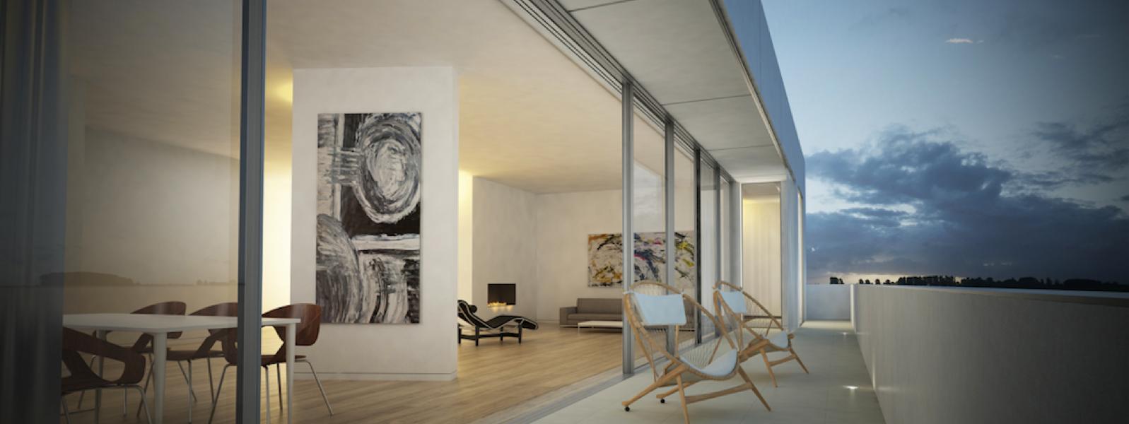 Witzlebenplatz: Beautiful apartment with fireplace and sauna
