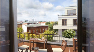 Beautiful penthouse with city view: living above the roofs of Berlin Mitte!