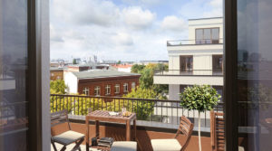 Beautiful penthouse: living above the roofs of Berlin Mitte!