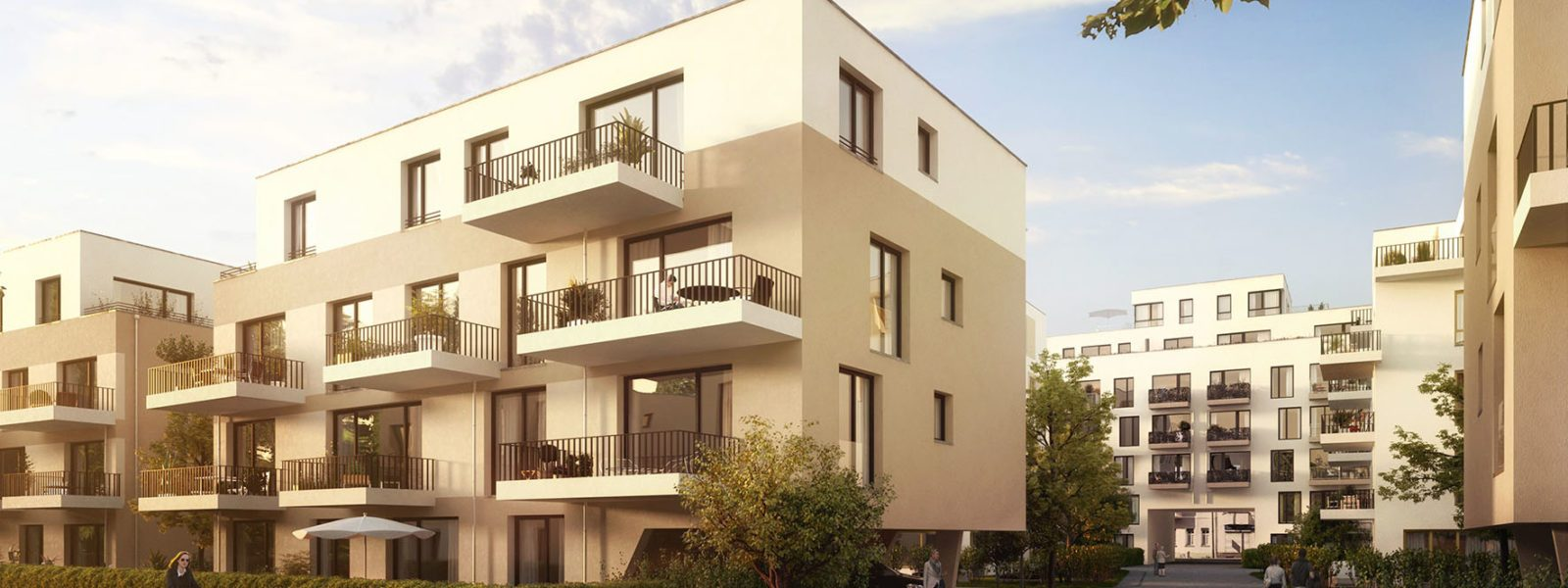 Beautiful apartment in the new development in Berlin's green City-East