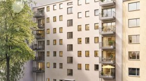 Very spacious apartment with 3 balconies, West Berlin
