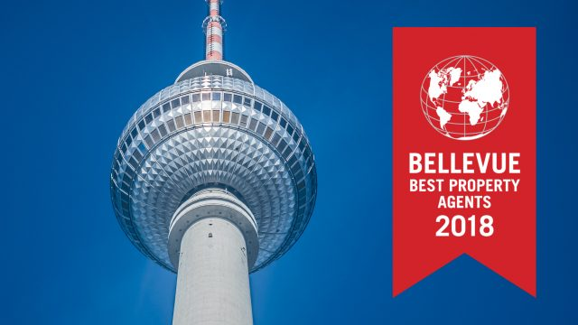 Rubina Real Estate GmbH honoured as »BELLEVUE BEST PROPERTY AGENT 2018«