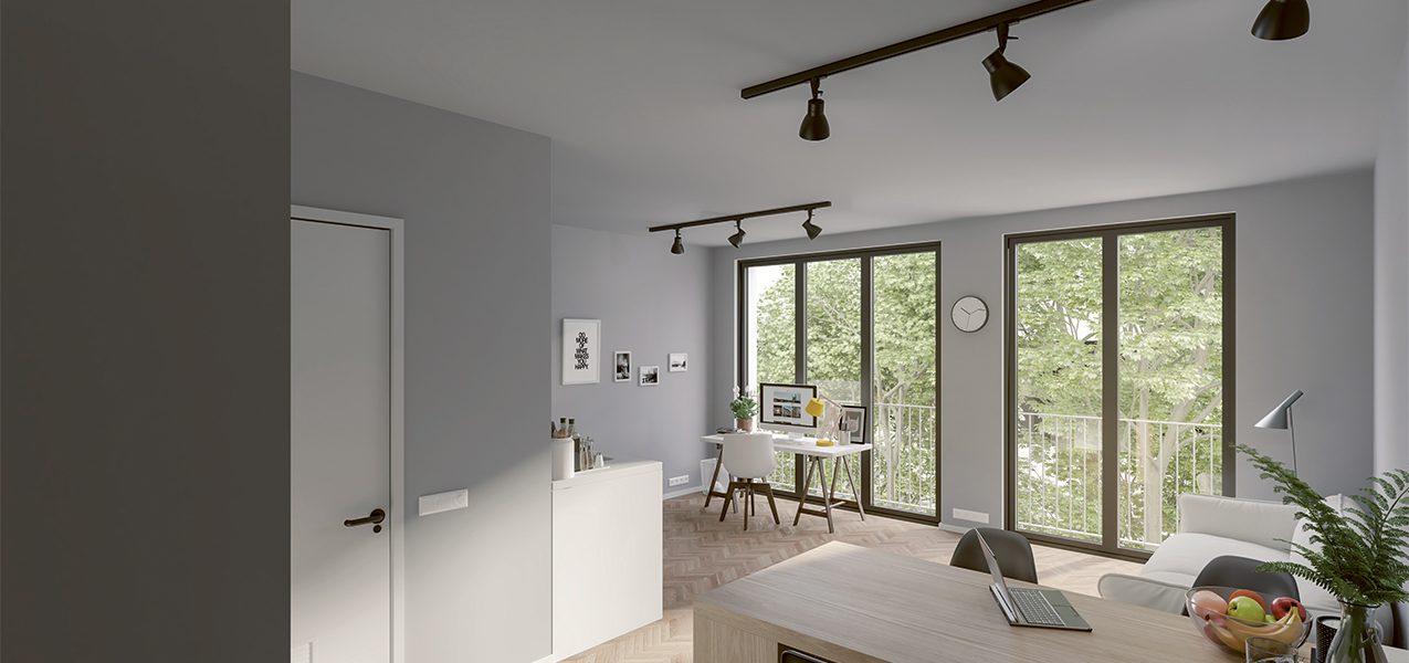 Modern studio in Berlin-Charlottenburg
