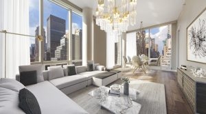 Luxury new 1 bedroom condo in center of Manhattan with wraparound views