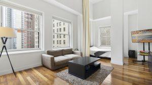 Luxury loft with beautiful views over New York