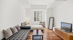 Two-room jewel with city view in New York