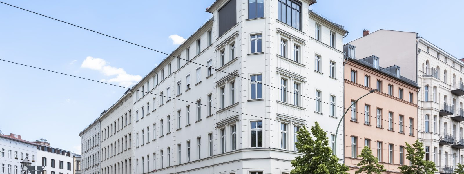 Historic and modern: the pearl of Monbijoupark (Berlin Mitte)