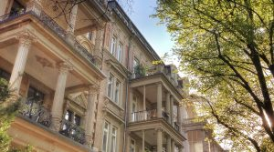 Luxurious, historical apartment in Wiesbaden