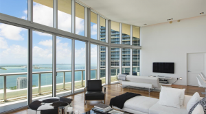 Beautiful 3-bedroom condo with a view in Miami, Florida