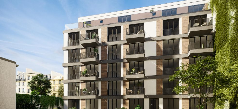 Studio apartment in a new development building in Berlin's City West