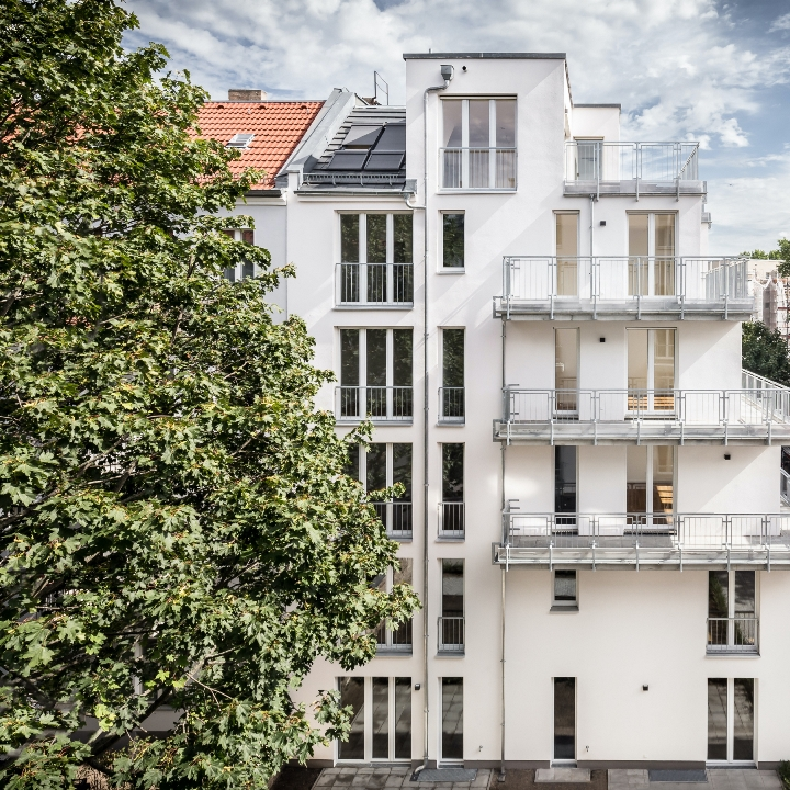 Two Bedroom Apartment With Balcony In A New Development Project