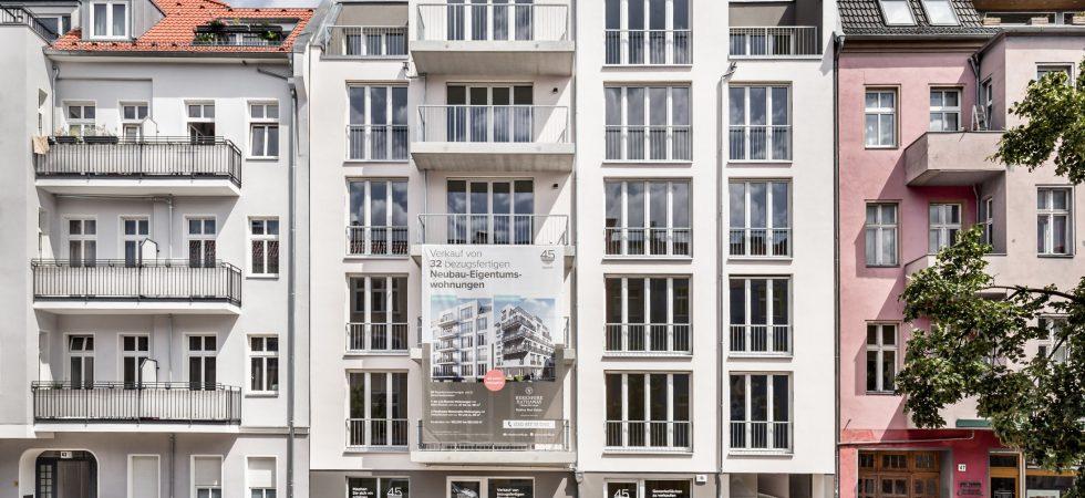 Nest45: a new residential project in Berlin-Lichtenberg