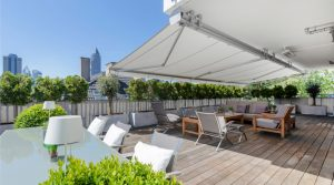 Exclusive penthouse consisting of two apartments in Frankfurt-Westend