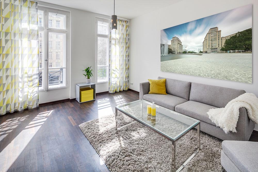 Spazioso appartamento nel centro di Berlino
