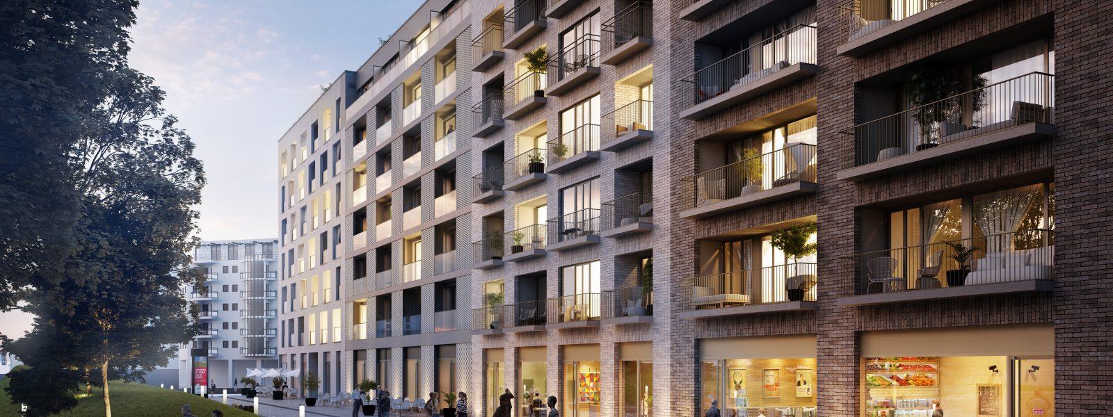 Большая квартира с двумя балконами в самом центре Берлина