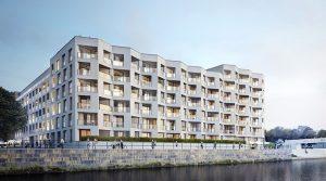 Изысканная квартира с двумя балконами