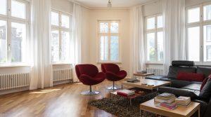 Великолепная квартира возле парка Монбижу в Берлин-Митте