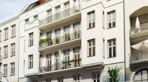 Прекрасная квартира в старинном здании