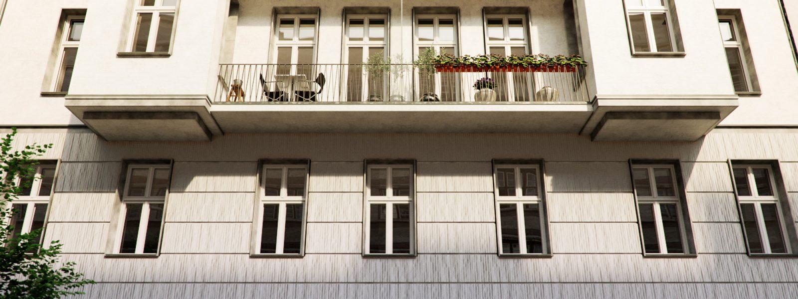 Квартира в старинном здании на Западе Берлина