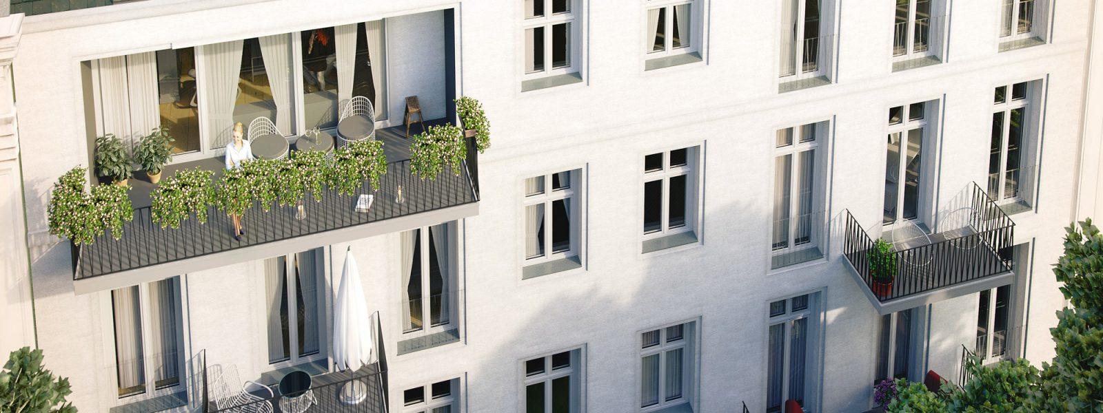Элегантная квартира в классическом здании