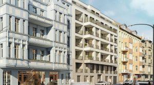 Трехкомнатная квартира с балконом и лоджией в Берлин-Шенеберге