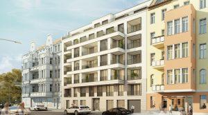 Двухкомнатная квартира с прекрасным расположением в Шёнеберге