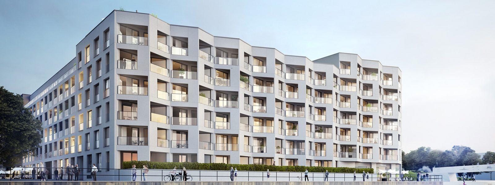 宽敞的公寓位于柏林市中心