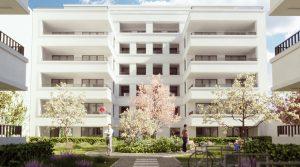 柏林Wilmersdorf区经典两室一厅户型