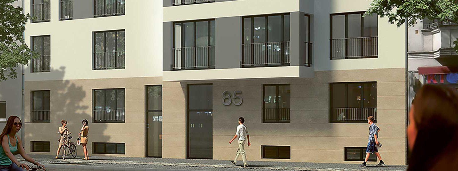 L85项目 – 柏林夏洛滕堡区新建小户型项目