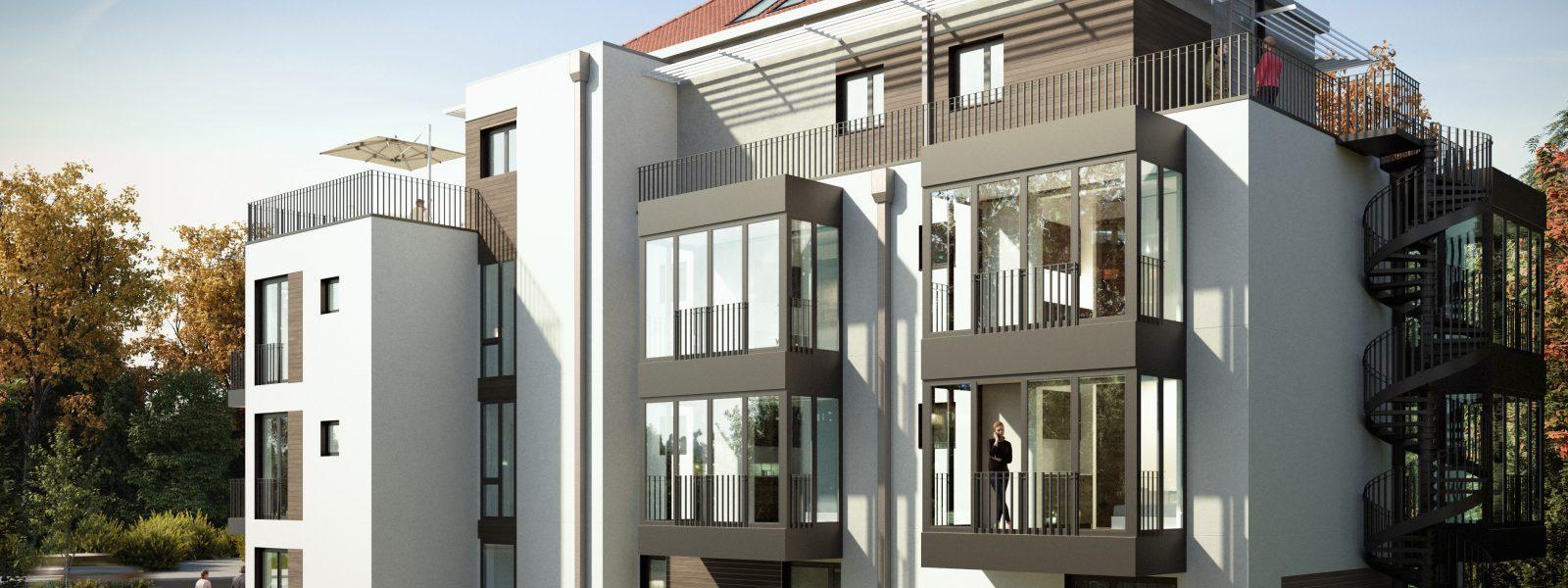 Luise11项目– 柏林核心位置新建微小户型公寓