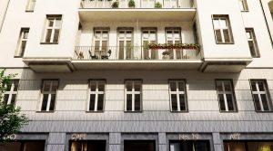 库达姆大街旁的豪华顶层公寓