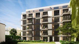西柏林市中心的新建单身公寓