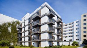 新建项目中的温馨两居室公寓出售